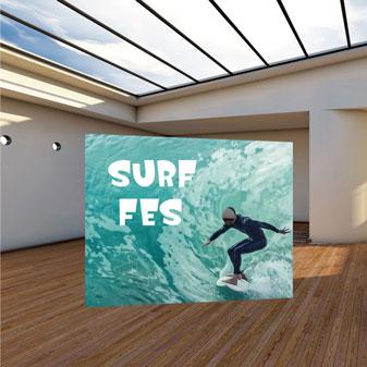 オリンピックアスリートサーフィンなりきり等身大パネル